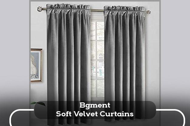 Bgment Soft Velvet Curtains