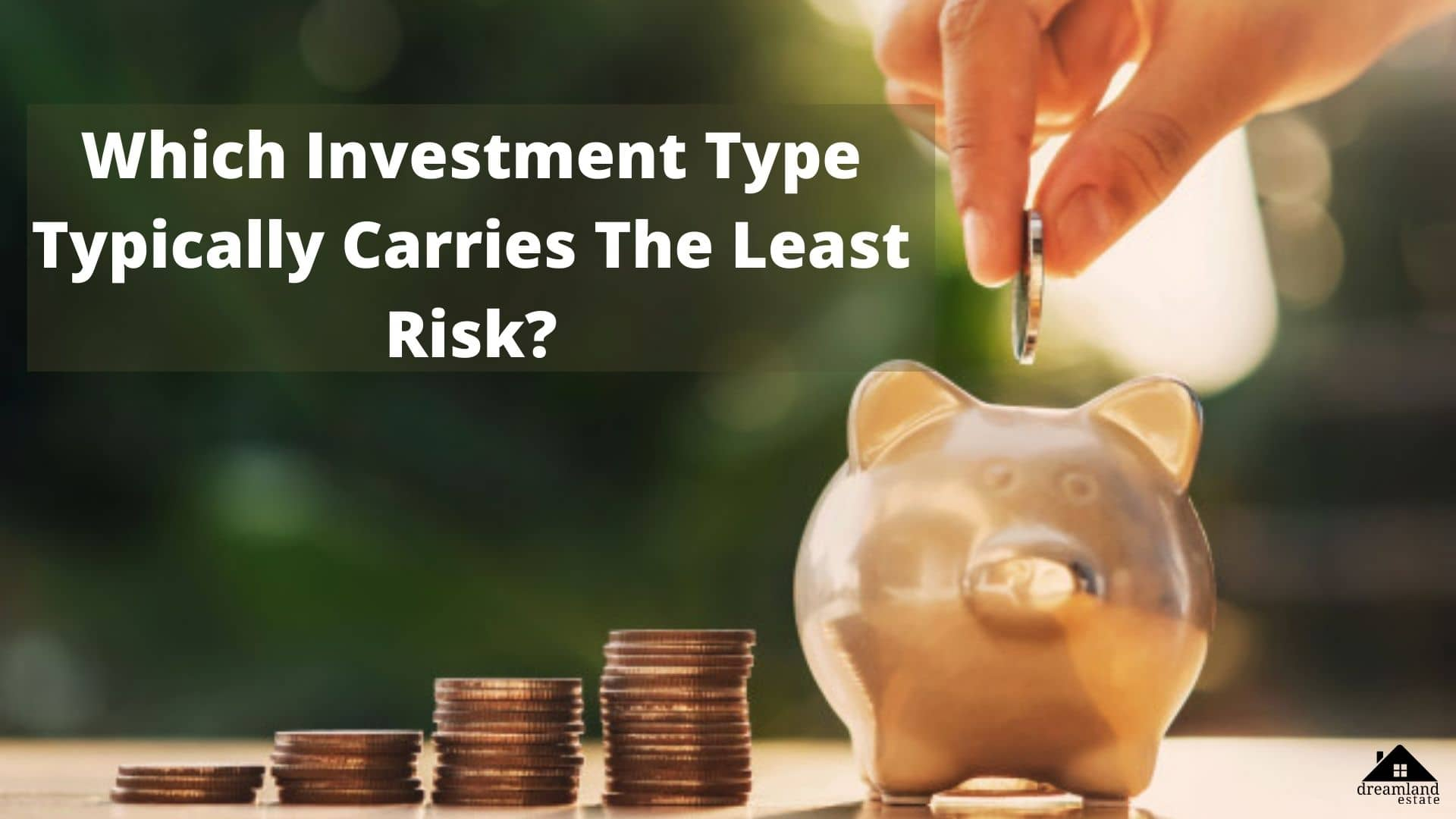 Which Investment Type Typically Carries The Least Risks