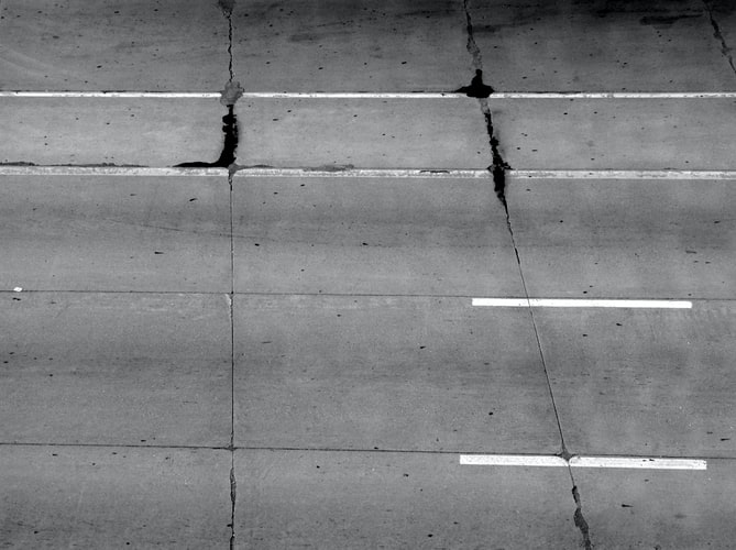 Types of asphalt paving damage