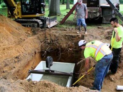 small septic tank